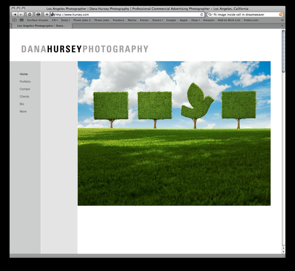 Redesign of www.hursey.com