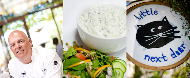 Chef Nicolos Peter and Tzatziki Sauce
