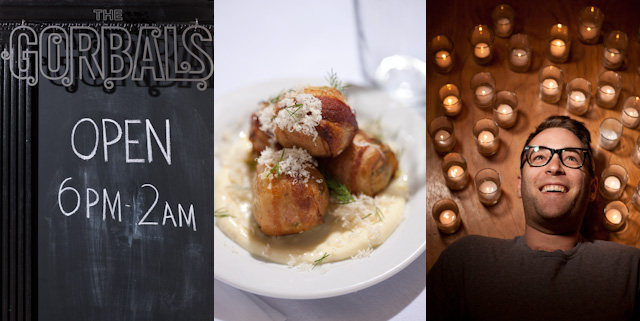 Ilan Hall, The Gorbals & Bacon Wrapped Matzo Balls