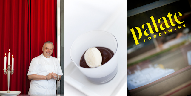 Chef Octavio Becerra - Palate Food & Wine - Chocolate Pudding