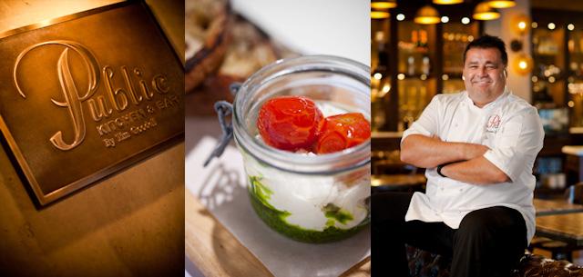 Chef Rainer Schwarz - Public - Burrata in a Glass