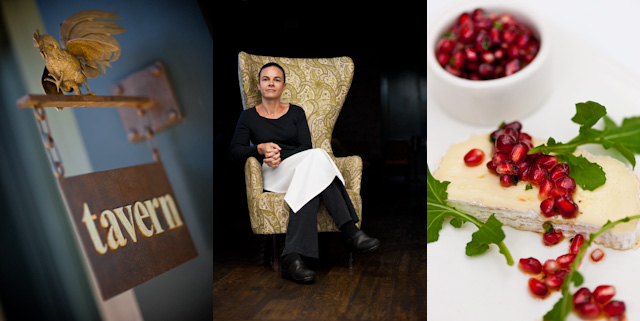 Tavern - Chef Suzanne Goin - Pomegranate Salsa