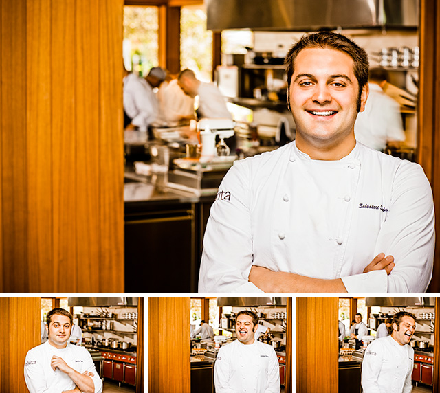 Portraits of Chef Salvatore Sodano