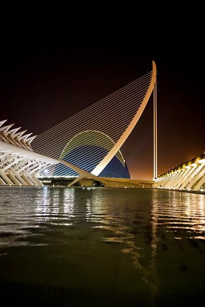 Photo of La Ciudad de las Artes y las Ciencias, ©2014 Dana Hursey Photography