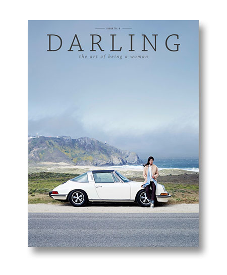 Cover of issue 9 of Darling Magazine