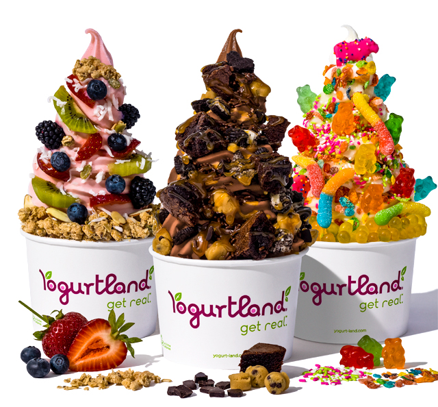 Photo Of Yogurtland yogurt with all kinds of delicious toppings.