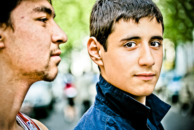 Portrait of two London teens at the Notting Hill Carnival - Personal Photography
