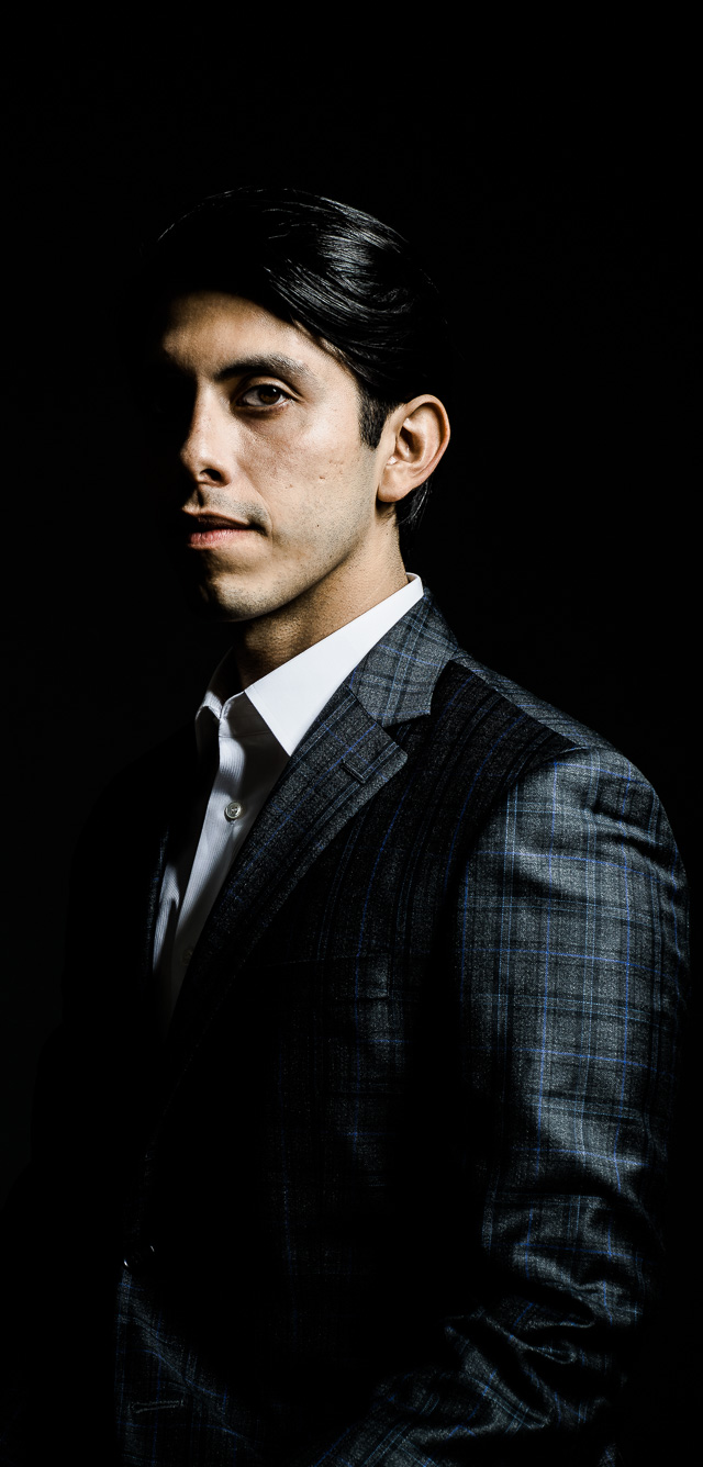 Portrait of Carlos Mendez Roca by Photographer Dana Hursey